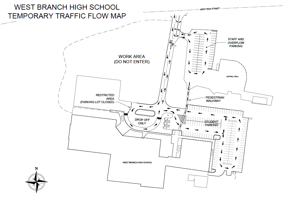 high school parking lot construction wbcsd School Bus Seating-Chart Diagram screen shot 2014 08 22 at 7 30 03 am