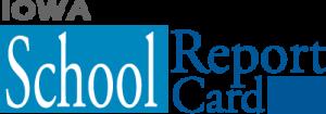 Iowa School Report Card logo