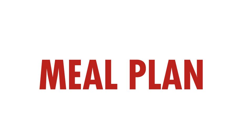 Covid Meal Plan header