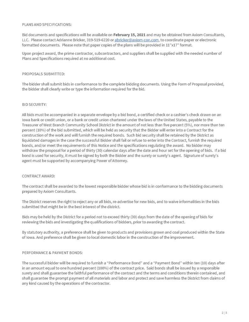 190146 - Notice to Bidders, WBCSD Track Resurfacing - 02.12.2021_Page_2
